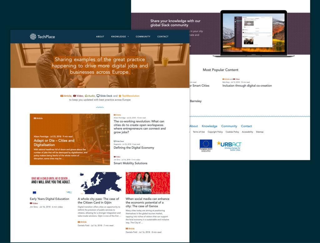 TechPlace website